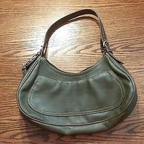 Nine West Olive Green Hobo Purse Shoulder Bag Photo