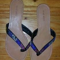 Nine West Rainbow Sparkle Sandals Photo