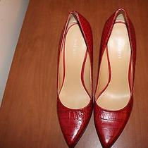 Nine West Red Pumps Photo