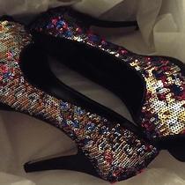 Nine West Sequin Heels Photo