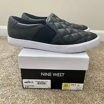 Nine West Slip-on Shoes/sneakers Size 9 Black Photo