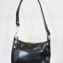 Nine West Small Black Classic Tote Handbag Purse Photo