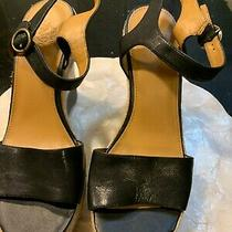 Nine West Vintage America Collection Wedge Sandals in Size 10 Photo