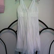 Nine West White Dress Size 6 Photo