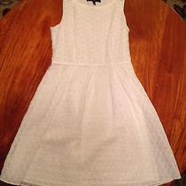 Nine West White Dress Size 8 Photo