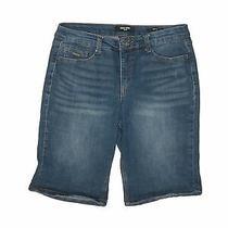 Nine West Women Blue Denim Shorts 8 Photo