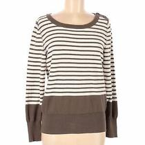 Nine West Women Brown Pullover Sweater L Photo