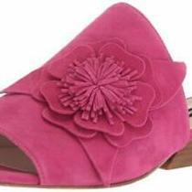 Nine West Women's Lucienne Suede Slide Sandal Size 5 1/2 Photo
