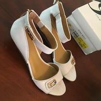 Nine West Women Shoe Open Toe Ankle Bracelet Designer Brand Size 9 B Photo