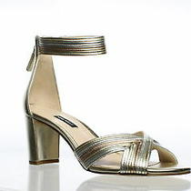Nine West Womens Pearl Platino/silver/rose Gold Sandals Size 9.5 (714257) Photo