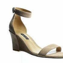 Nine West Womens Sloane Blush Ankle Strap Heels Size 8 (1065438) Photo