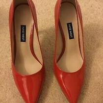 Nine West Womens Tatiana Pointed Toe Classic Pumps Red Size 8 New 79.00 Photo