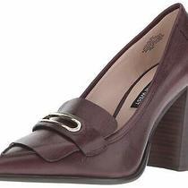 Nine West Womens Zoro Pointed Toe Classic Pumps Dark Purple Size 8.5 1drz Photo