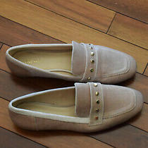 Nine West Xiamara Blush Velvet Slip-on Loafers Women Shoes Flats Size 9.5 Photo