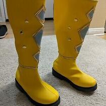 Ninjetti Yellow Ranger Costume Photo