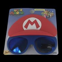 Nintendo Super Mario Bros. Kids Sunglasses Shades Costume Party Sun-Staches Photo