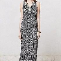 Nip Anthropologie Sikuli Diamond Dress by the Addison Story Black Size Sp Photo