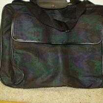 Nip Avon Phoenix Traveller Bag Tote Weekender Carry Strap Dated 1997 Black Green Photo