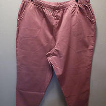 Nip Denim & Co. Antique Blush Stretch Petite Pants W/ Side Pockets Sx. P3x Photo