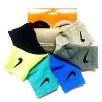 Nip Nike Toddler Boys' 6-Pack Quarter Socks 6-7/13c-3y- Lk Photo