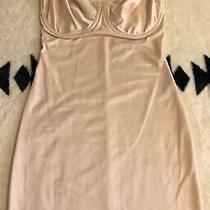 Nip Tuck & Boost Blush Pink Bodysuit Shaper Bustier Remove Straps Lingerie 36d Photo