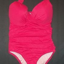 Nip  Victoria Secret Unforgettable Fresia Pink One Piece Swimsuit 36d Photo
