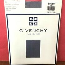Nip Vtg Givenchy  French Ultra Sheer Control Top Panty Hose 135 Size D Blue Photo
