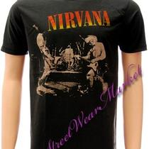 Nirvana Kurt Cobain Rock Music Alternative T-Shirt Sz L Photo