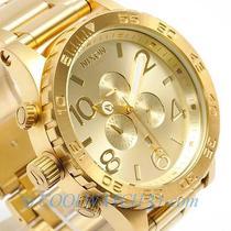 Nixon A083-502 A083502 Watch Mens 51-30 Chrono All Gold Photo