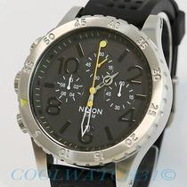 Nixon A278-1227 A2781227 48-20 Chrono P Grand Prix Watch Mens Black Yellow New Photo