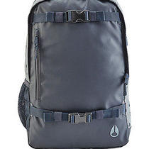 Nixon Bag Smith Skatepack Ii Gray Navy Brand New With Tags Photo