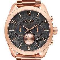 Nixon Bullet Chrono All Rose Gold/gunmental Women's Watches Photo