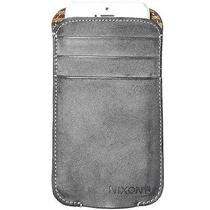 Nixon Dusty Iphone Wallet Gray Chalk Black Photo