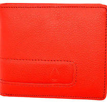 Nixon Genuine Showdown Bi-Fold Mens Wallet Red N42 Photo