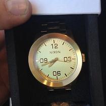 Nixon Gold Watch  Photo