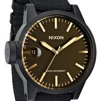 Nixon Mens Chronicle Watch One Size Black Photo