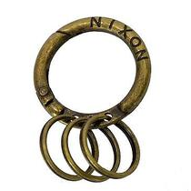 Nixon Ozon Key Chain Antique Gold Photo