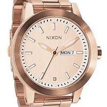 Nixon Spur Quartz Rose Gold Dial Women's Watch - A263-897 Photo