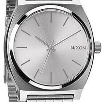 Nixon Unisex Time Teller Stainless Silver Bracelet Band Silver Watch A0451920-00 Photo
