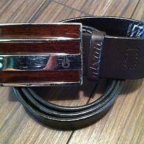 Nixon Watch Watches Leather Belt 44.5 Inches Medium 32 - 38 Photo