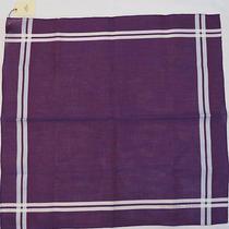 no.39927authentic Hermes Hermes Handkerchief Purple 48cm Photo