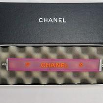 no.40148authentic Chanel Chanel Rubber Bracelet Pink  Photo