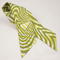 no.42102authentic Hermeshermestwilly Scarf Green Photo