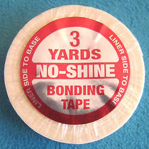 No Shine Double Sided Tape 1/2 in X 3 Yard Roll Bond Toupee Hair Extension Tape Photo