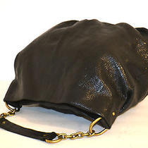 Nordstrom Black High Quality Genuine Leather Tote Hobo Computer Bag  Photo