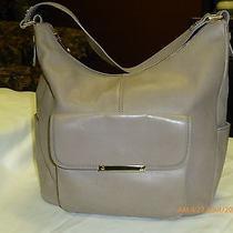 Nordstrom Leather Beige Hobo Photo