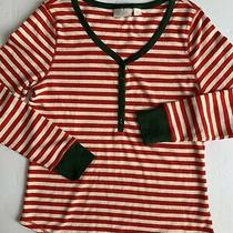Nordstrom Lingerie Sleepyhead Thermal Pajamas Top  in Red Bloom Size Large Photo