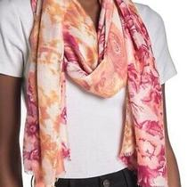 Nordstrom Rack Bloom Triad Knit Scarf Color Pink Combo Photo