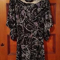 Norma Kamali Dress Modern Graffitti Print Small Photo