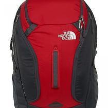 North Face Big Shot Unisex Clg7-65j Red Grey Backpack Bookbag Laptop Bag Photo